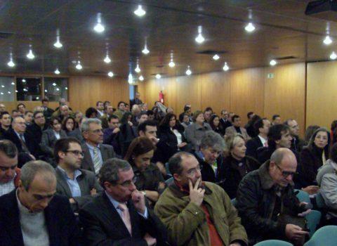 Aspecto do auditório no encontro TIC