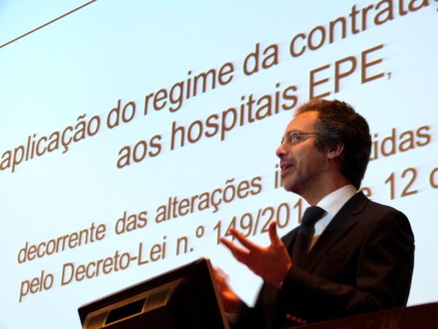 Imagem do formador Dr. João Amaral e Almeida