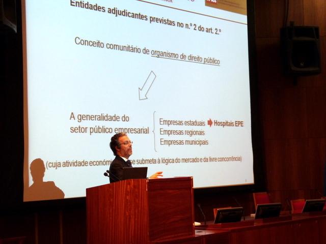 o formador Dr. João Amaral e Almeida