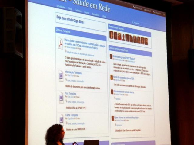 apresentação da rede social da saúde