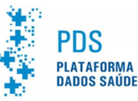 logotipo da Plataforma de Dados da Saúde
