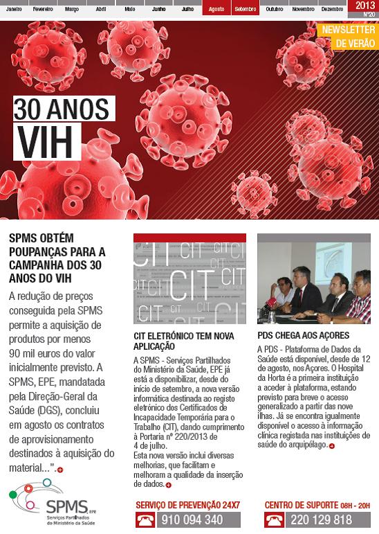 Capa newsletter Verão