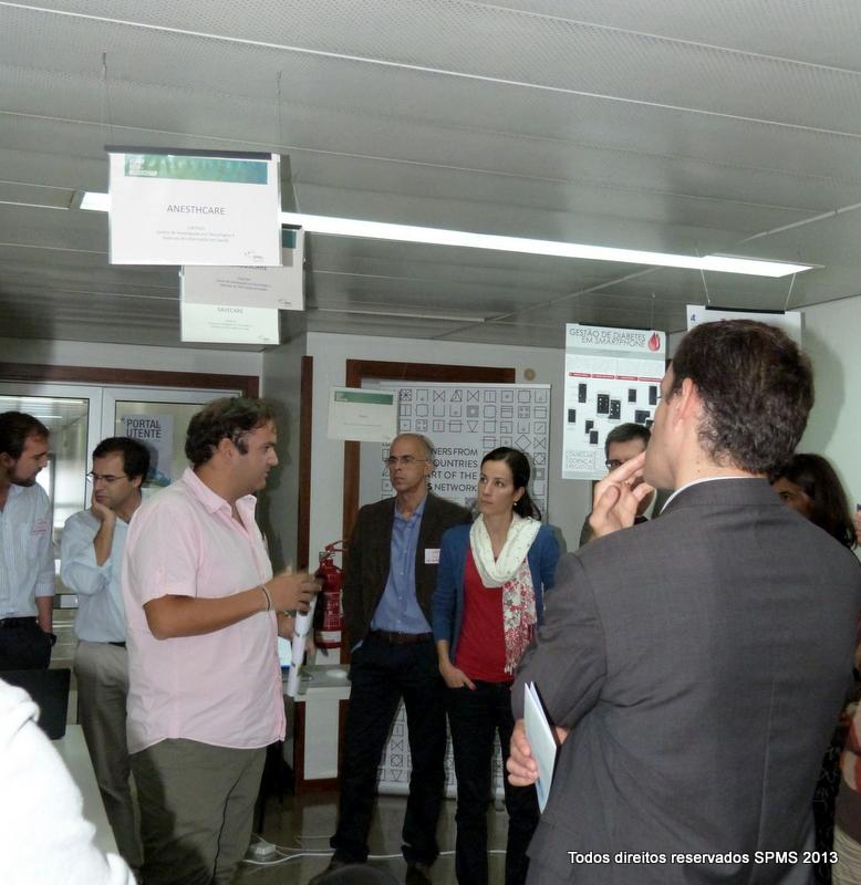 Exposição de projetos no Open Day