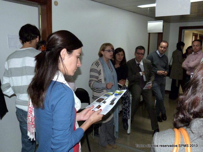 Exposição de projetos na SPMS Porto