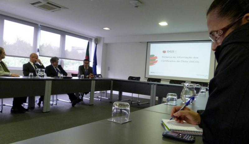 Sessão de apresentação do SICO às universidades