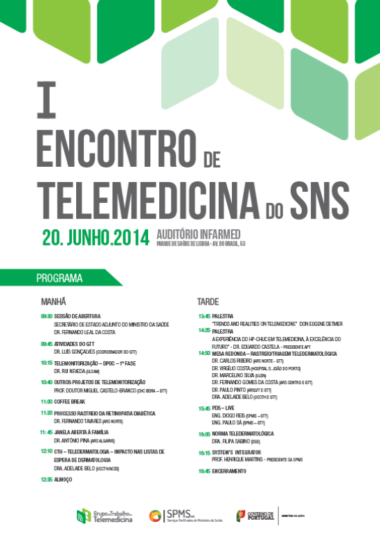 Cartaz telemedicina