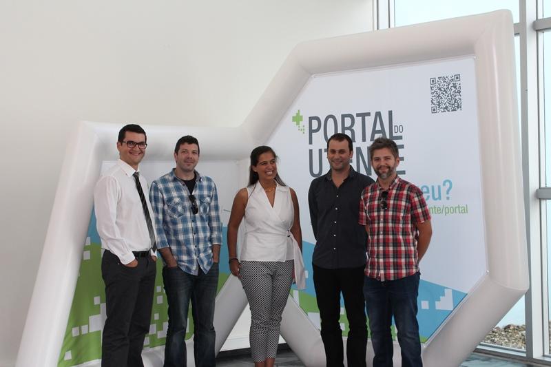 Equipa da SPMS responsável pelo desenvolvimento da PDS