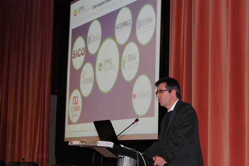 Henrique Martins, presidente do Conselho de Administração da SPMS