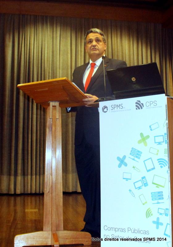 Paulo Macedo realçou a importância das compras centralizadas