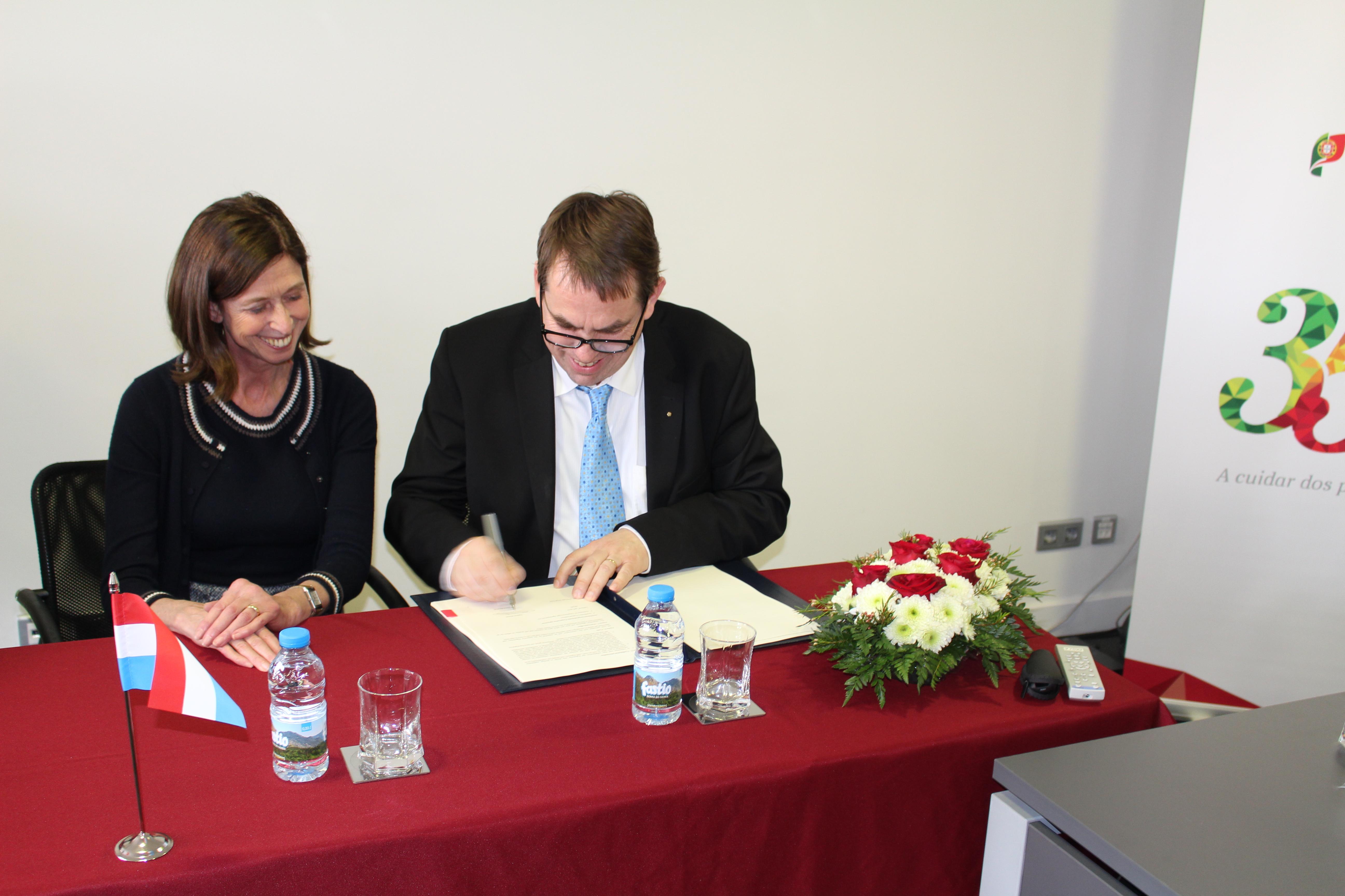 Ministra da Saúde do Luxemburgo e Presidente da Agence eSanté
