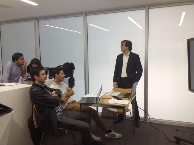 Participantes no WS Datamining