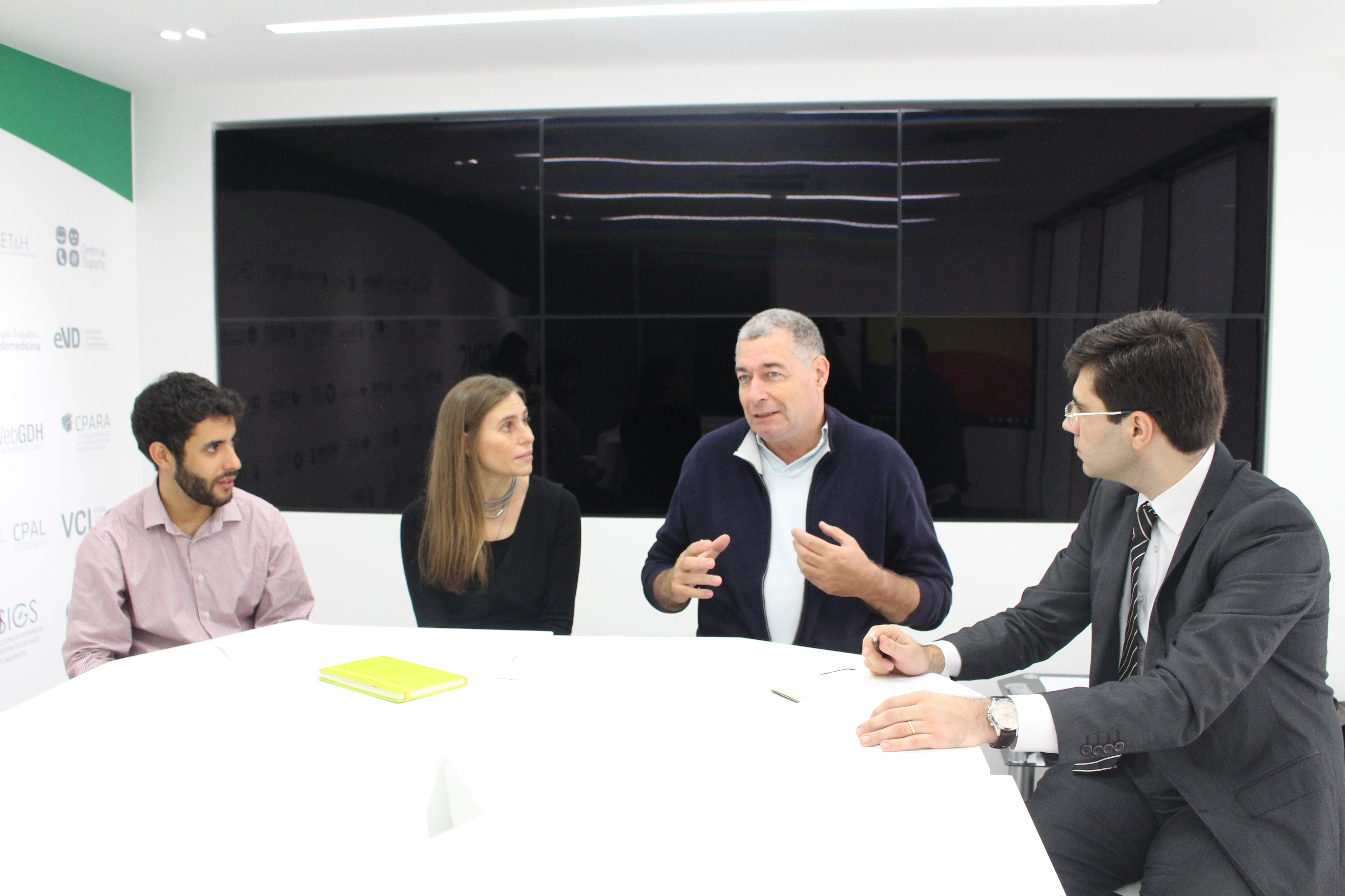 Tomé Vardasca, Rita Mendes, António Câmara e Pedro Moreira