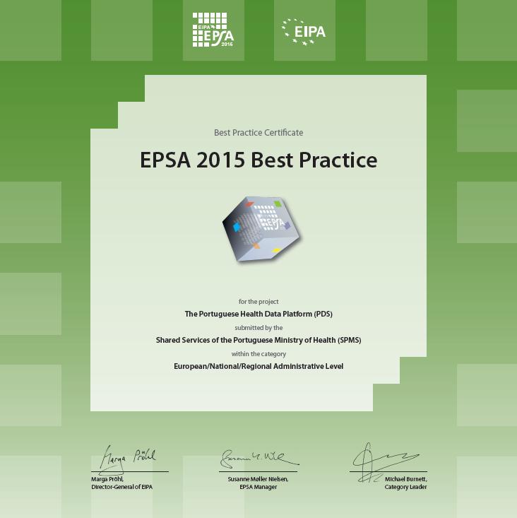 Prémio Best Pratice PDS