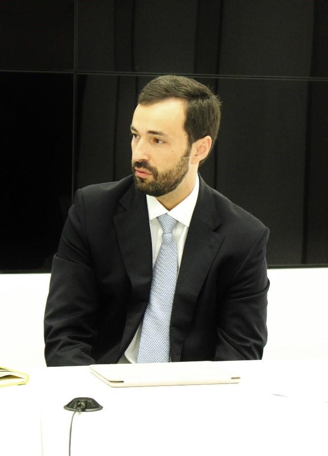 Presidente da AMA, Pedro Silva Dias