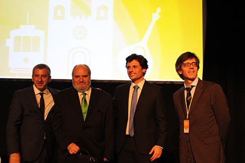 Artur Trindade Mimoso, Luís Gonçalves, Ricardo Mestre e Henrique Martins