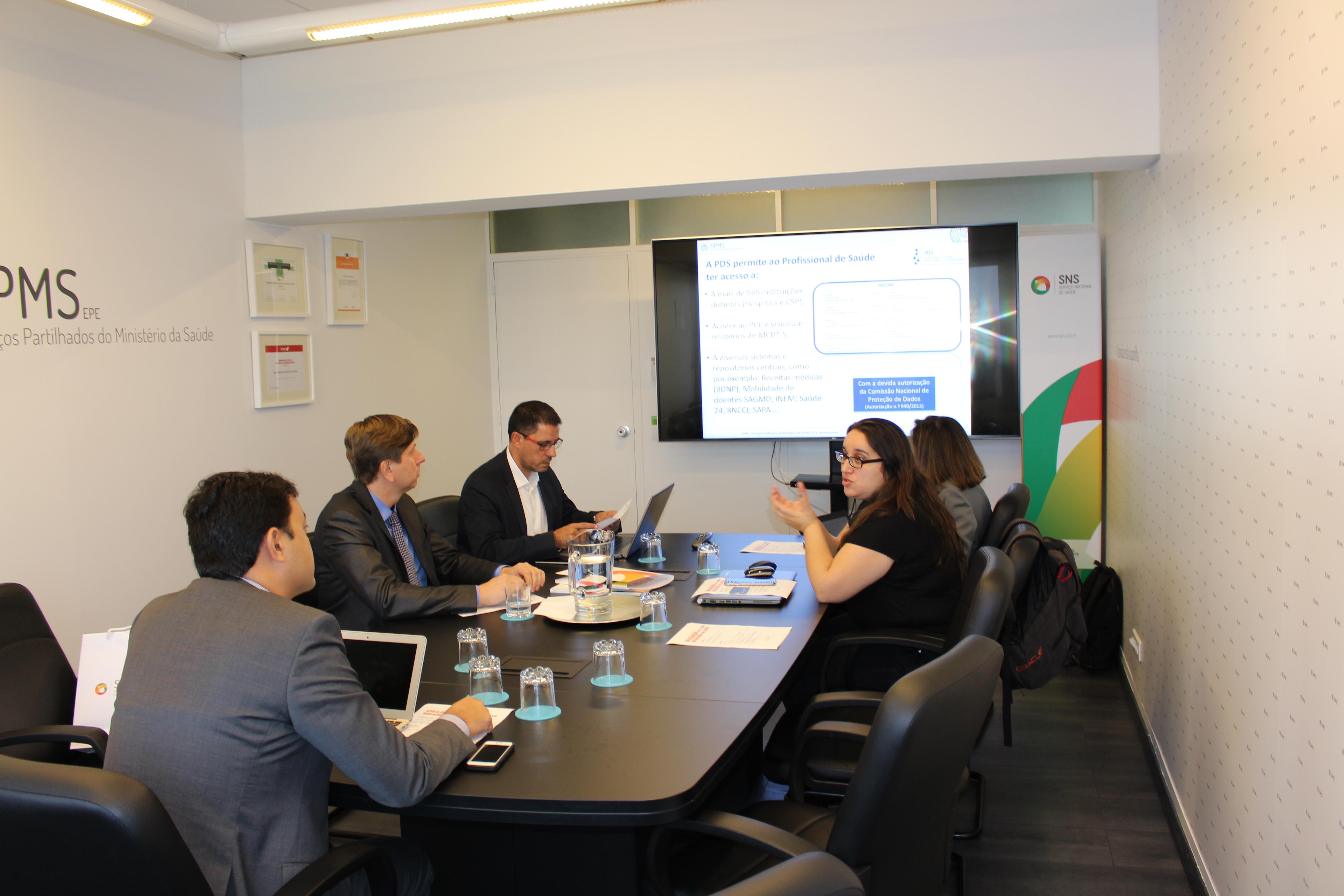 delegação brasileira da Coordenação-Geral de Inovação Tecnológica 2