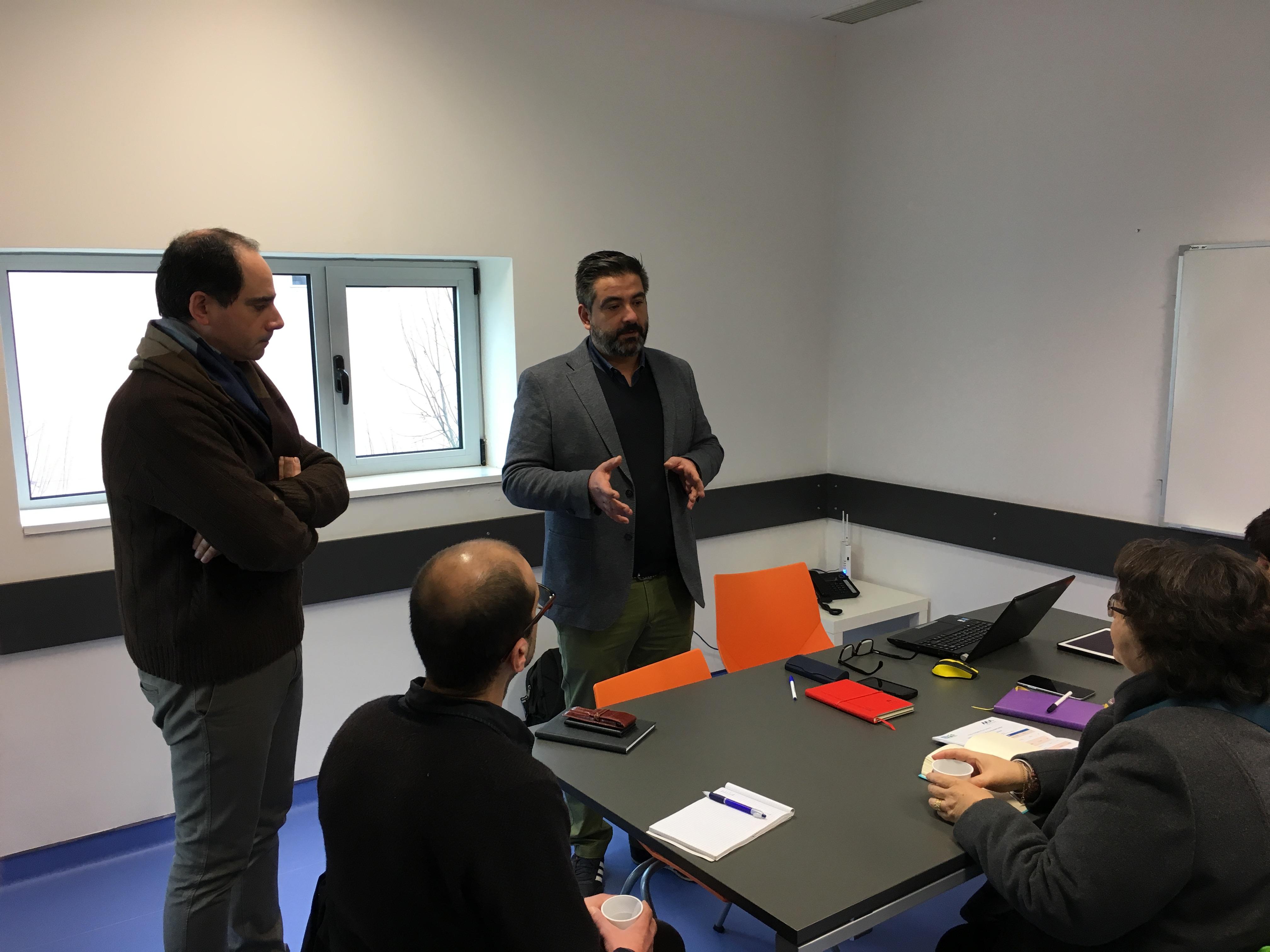 SPMS visita SCMA no âmbito do projeto ProEmpower
