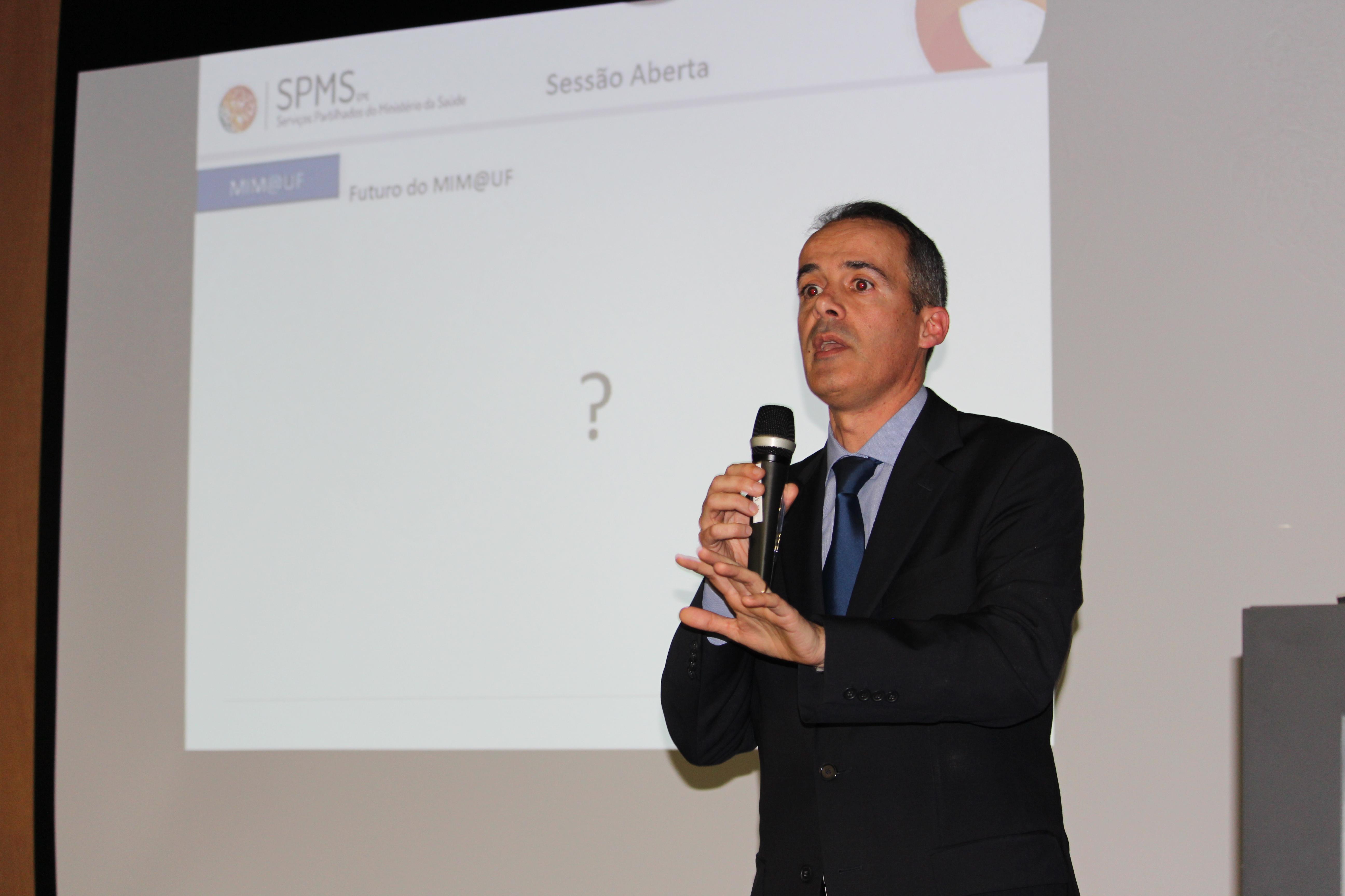 Coordenador SPMS, Pedro Baptista