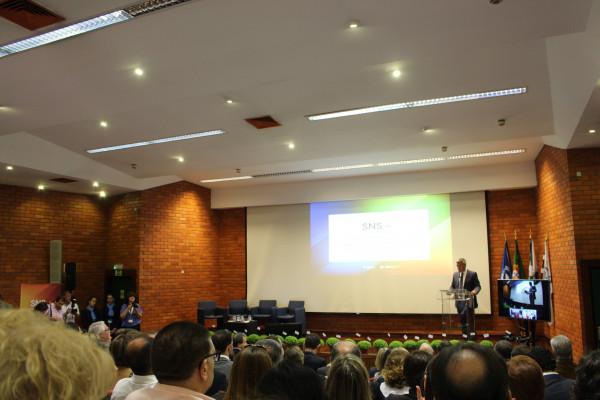 Pimenta Marinho, Presidente da ARS Norte na sessão de abertura