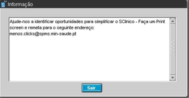 sclinico informação