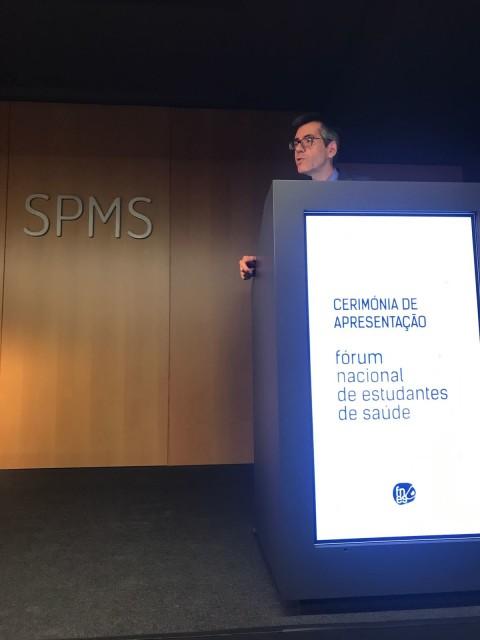 Presidente do CA da SPMS, Henrique Martins