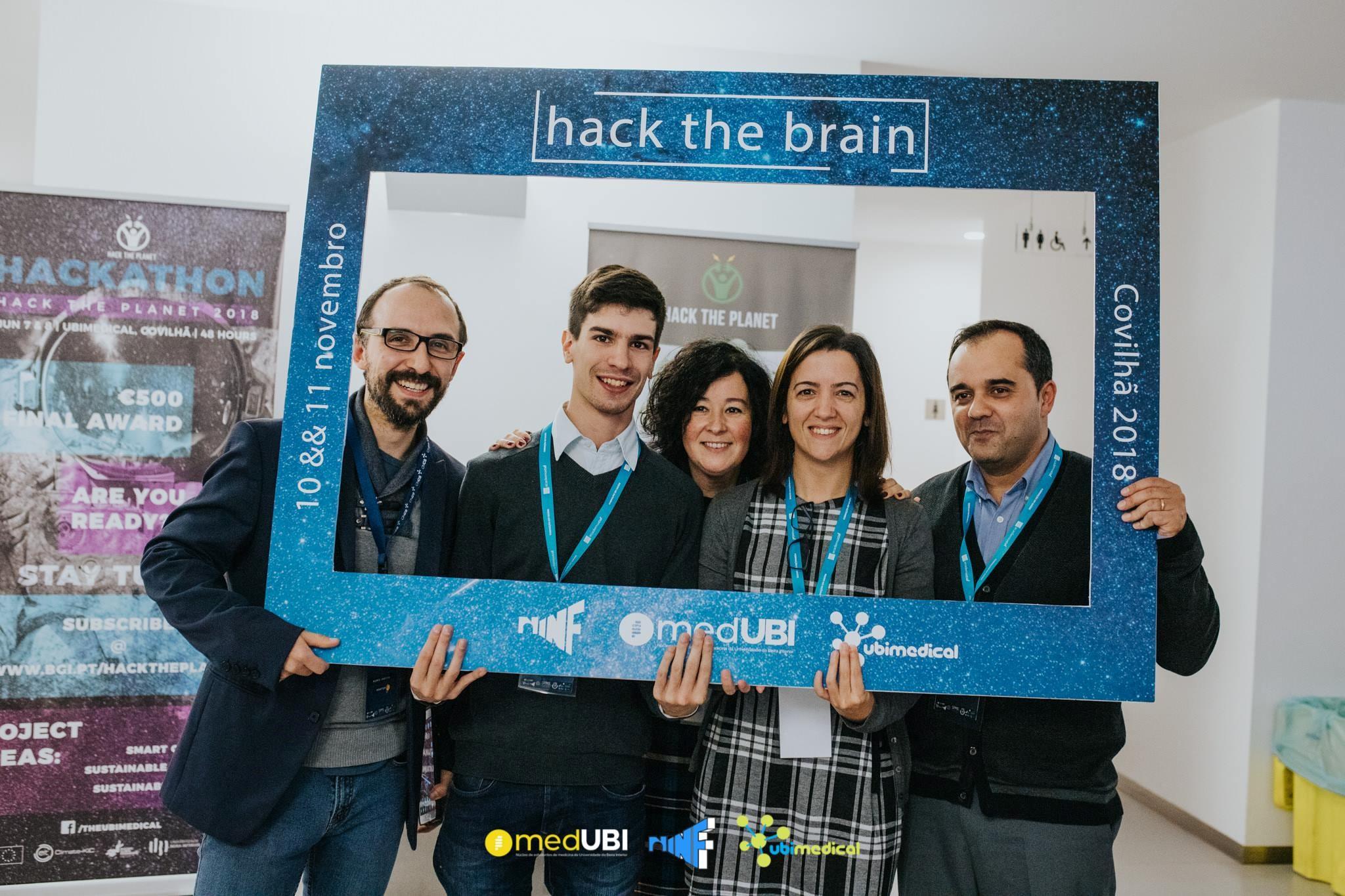 """SPMS participa na 1ª edição """"Hack The Brain"""""""
