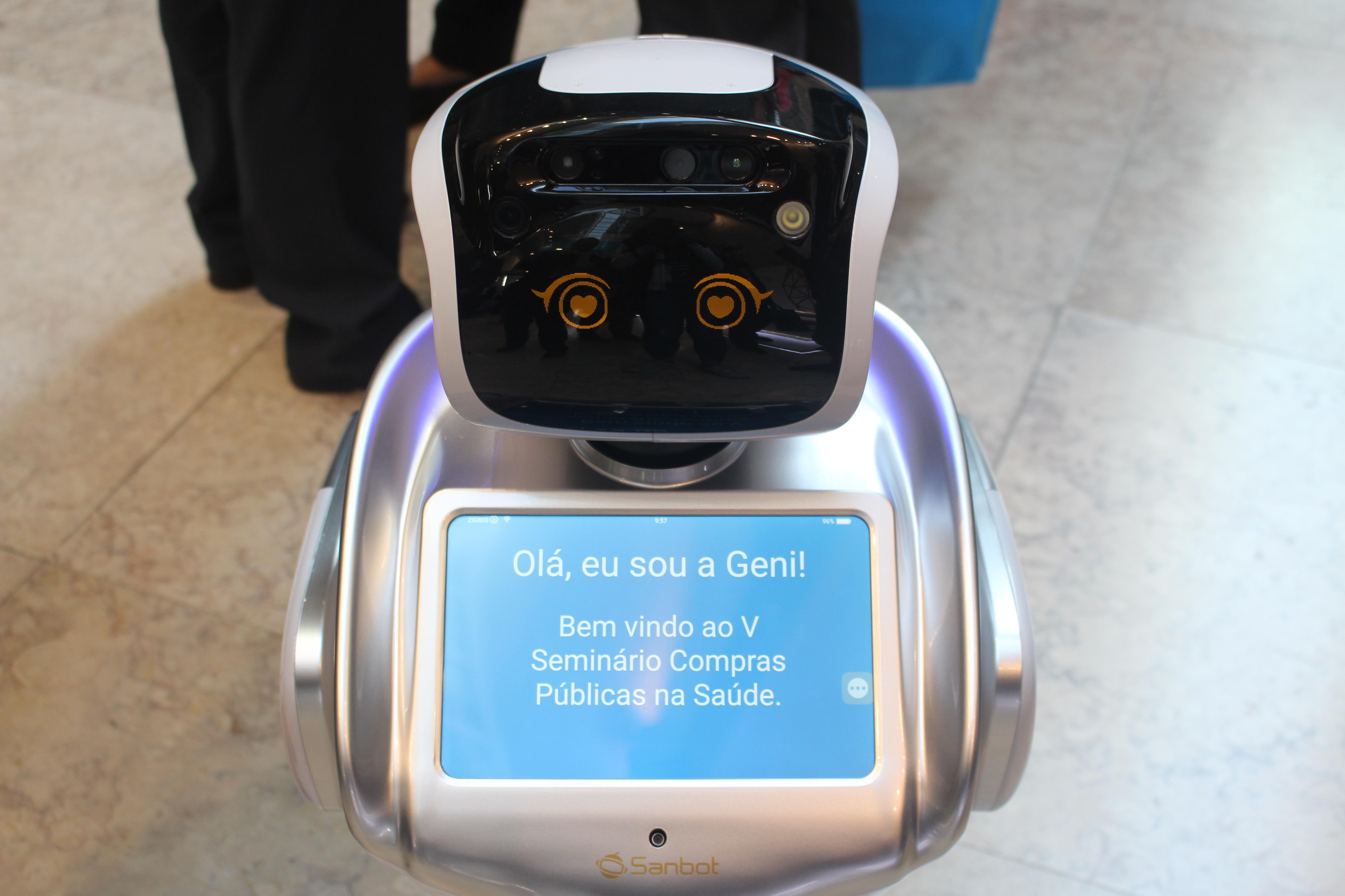 robot geni no seminario