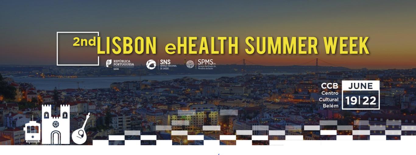 Lisbon eHealth Summer Week, vista de lisboa