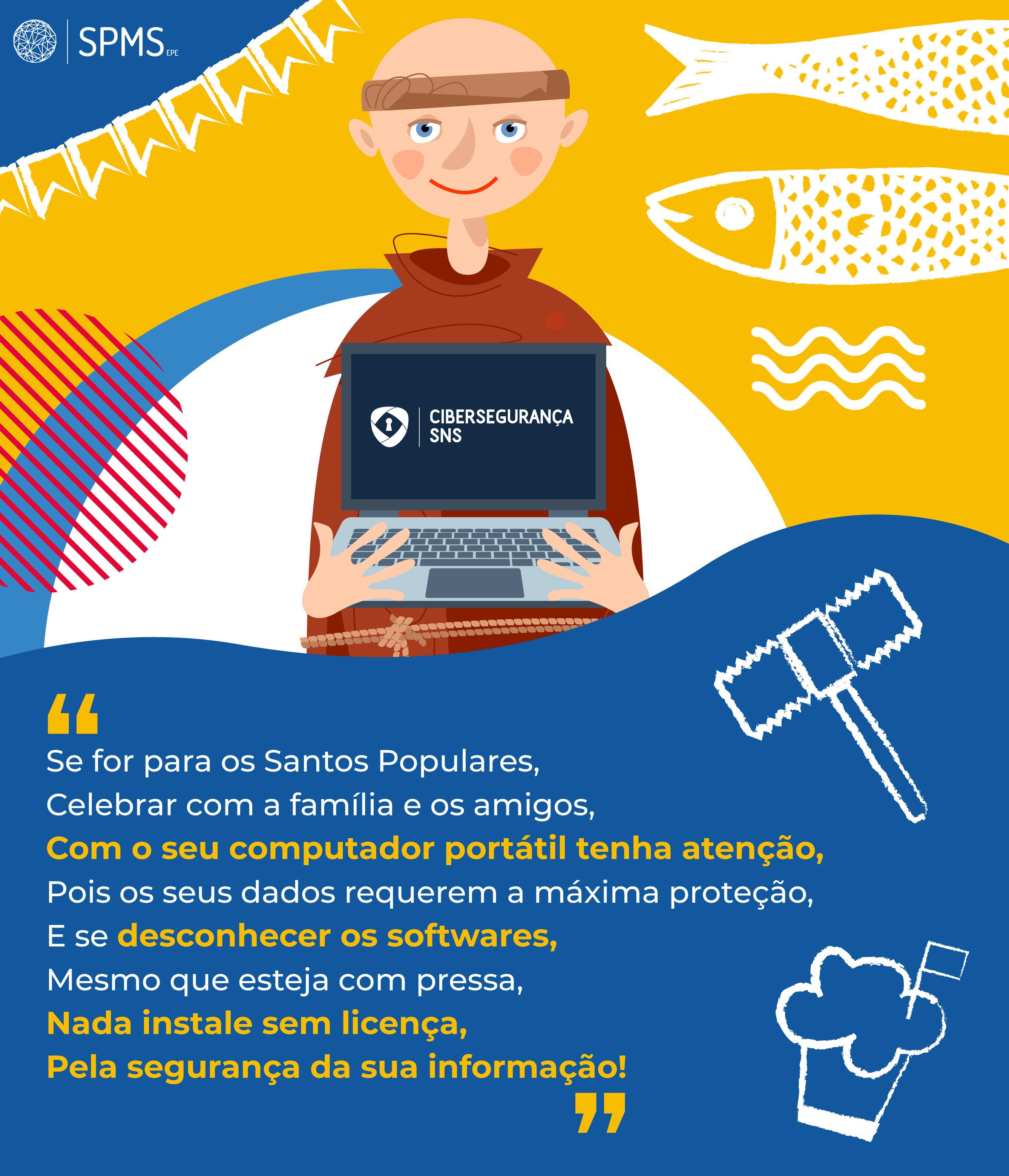 infografia cibersegurança Santos Populares