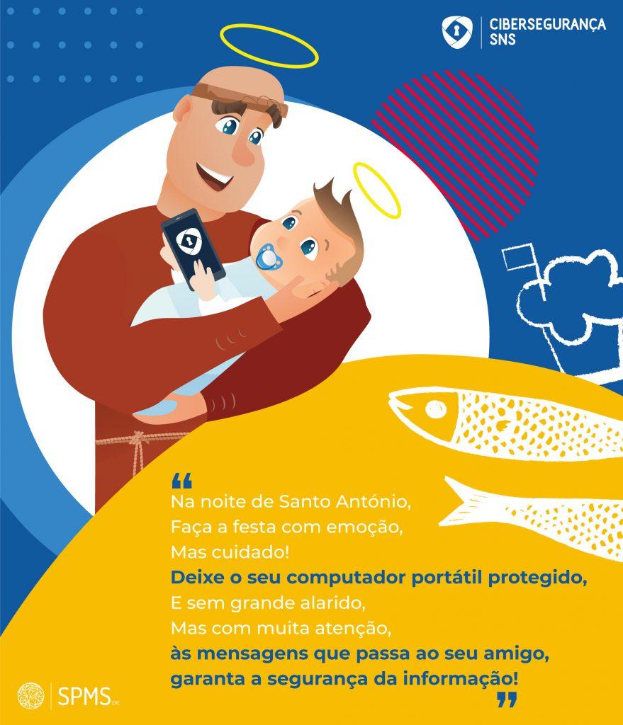 infografia cibersegurança Santo António