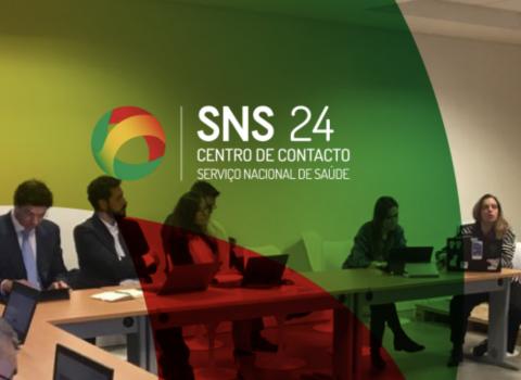 reunião no centro de contacto do SNS 24