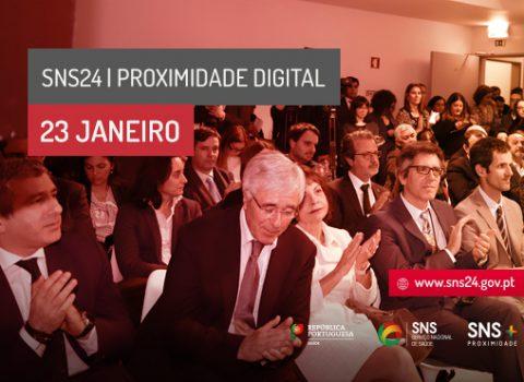 Cerimónia de apresentação do novo site do SNS 24