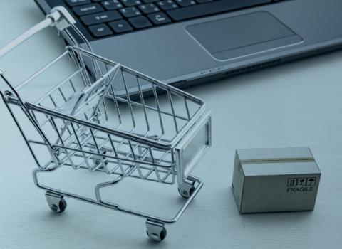 carrinho de supermercado SAD serviços transversais e bens de saúde