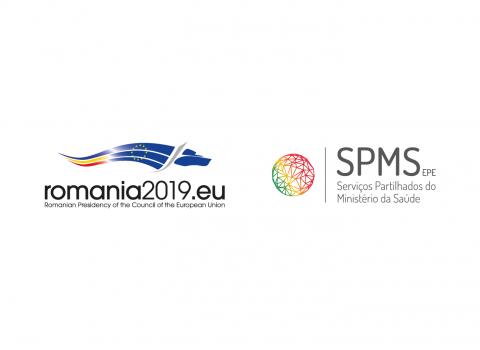 Logos SPMS e Romania2019