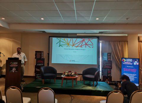 apresentação em sala no V Encontro de Internos de MGF