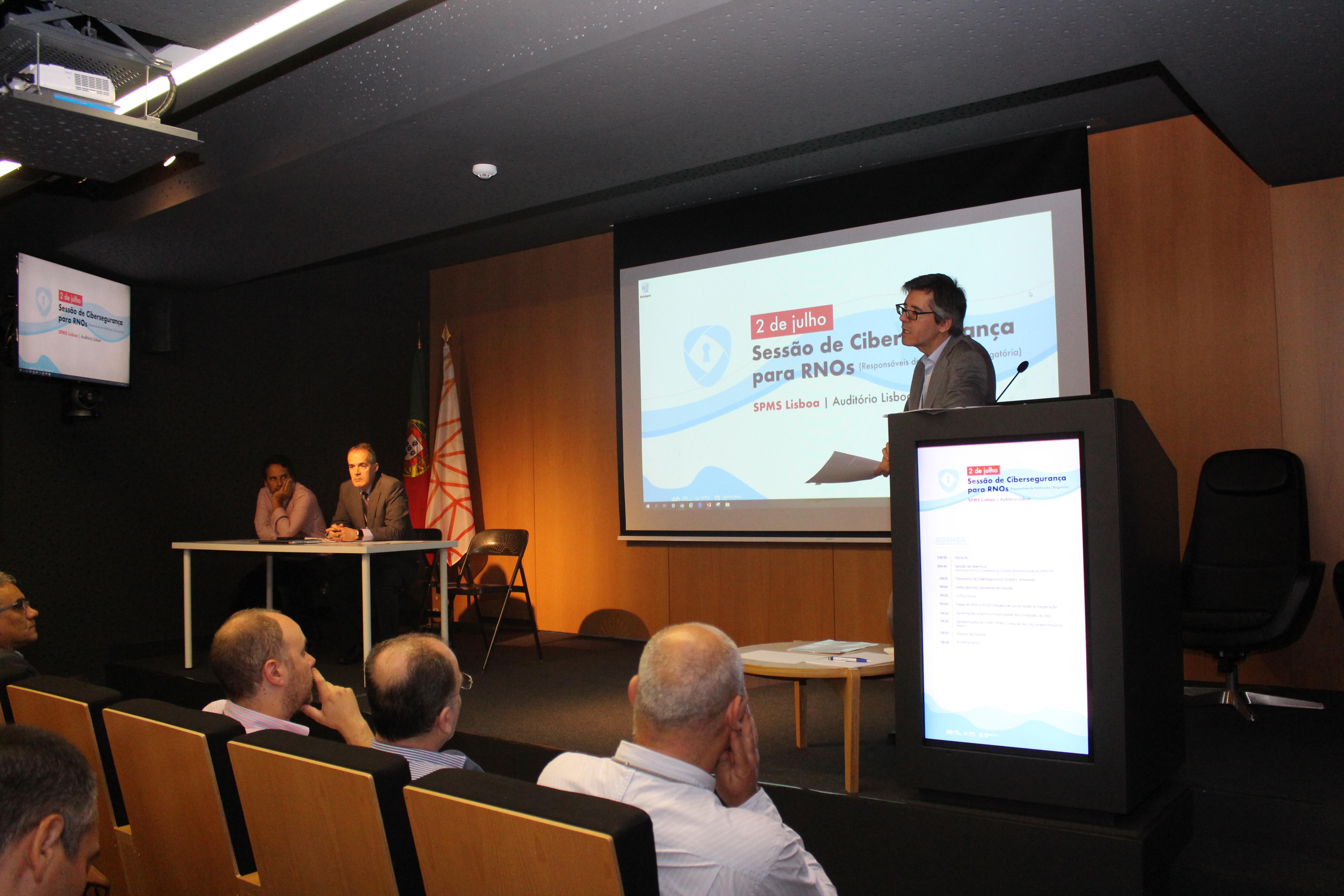 Sessão cibersegurança
