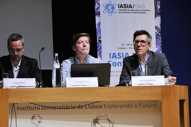 Professor Henrique Martins na IASIA Conference 2019 2
