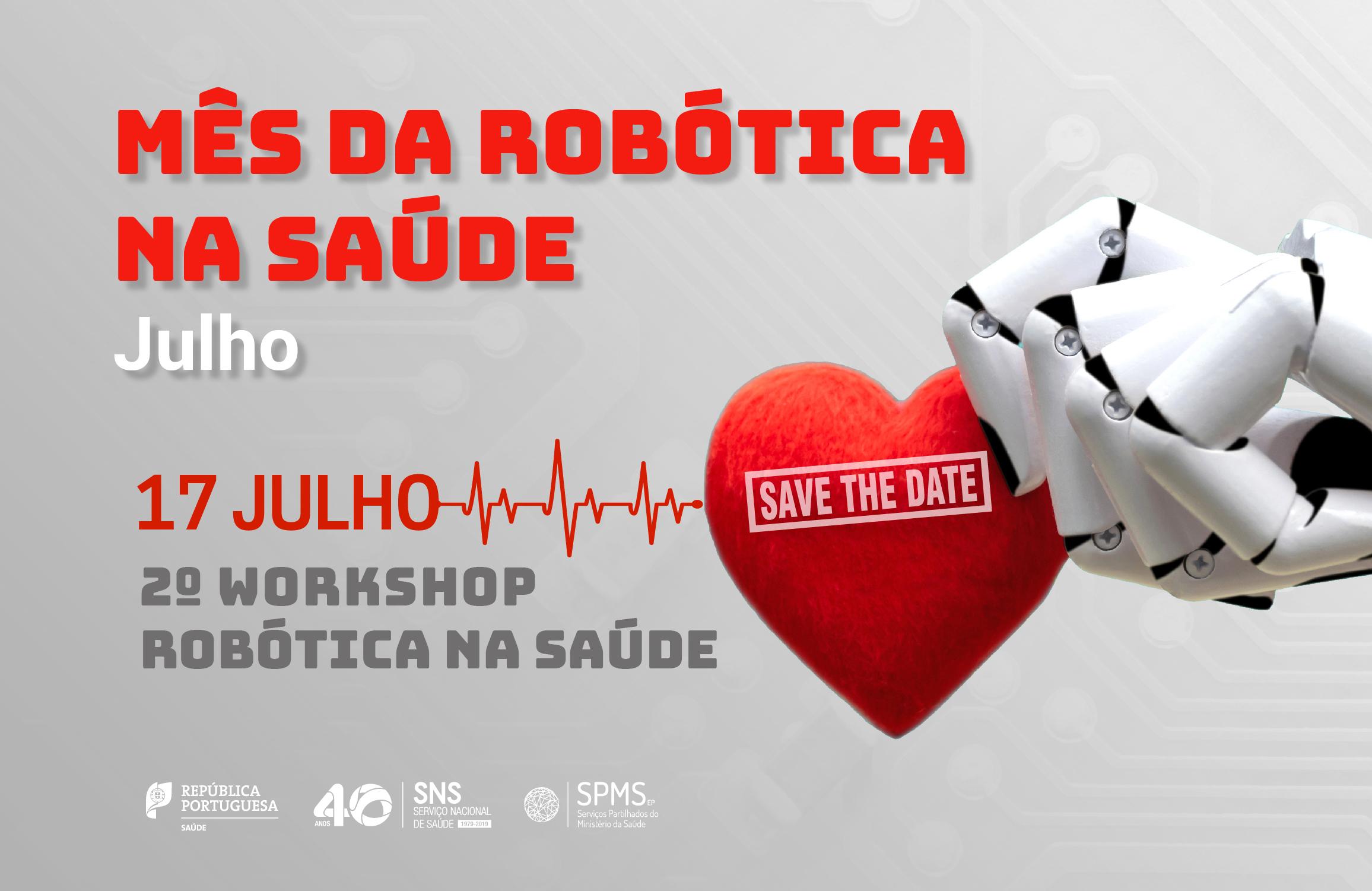 banner workshop robótica na saúde