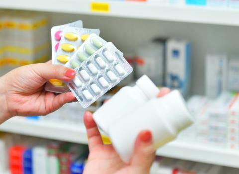 medicamentos em blisters