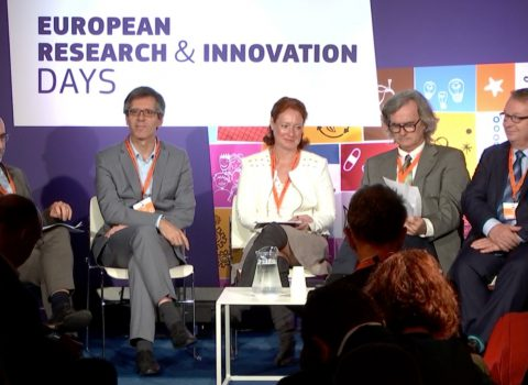 Professor Henrique Martins na European research and Innovation days