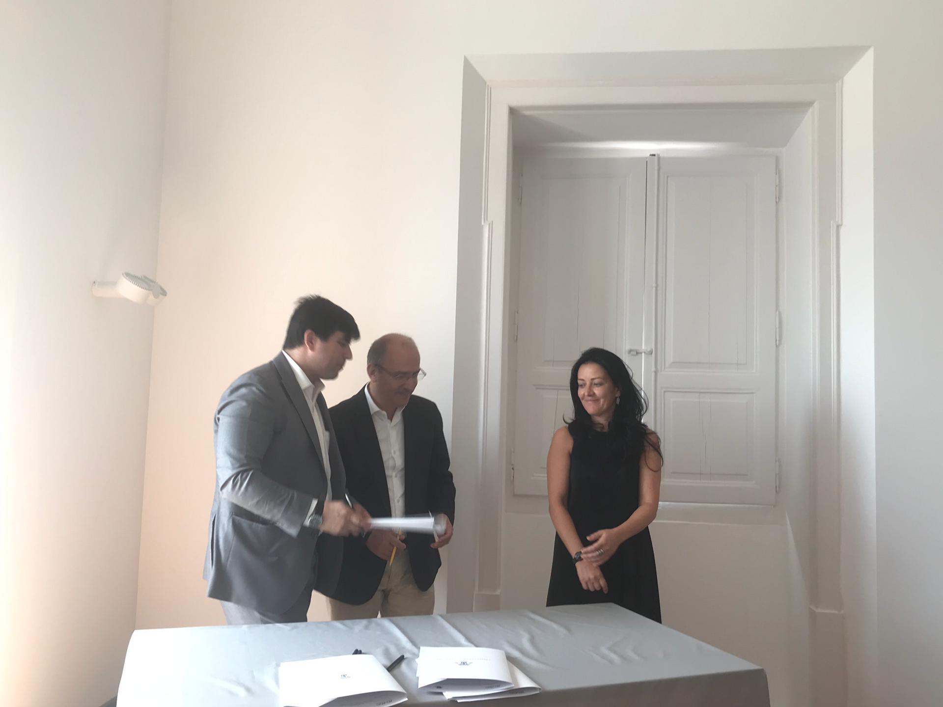 assinatura do projeto literacia