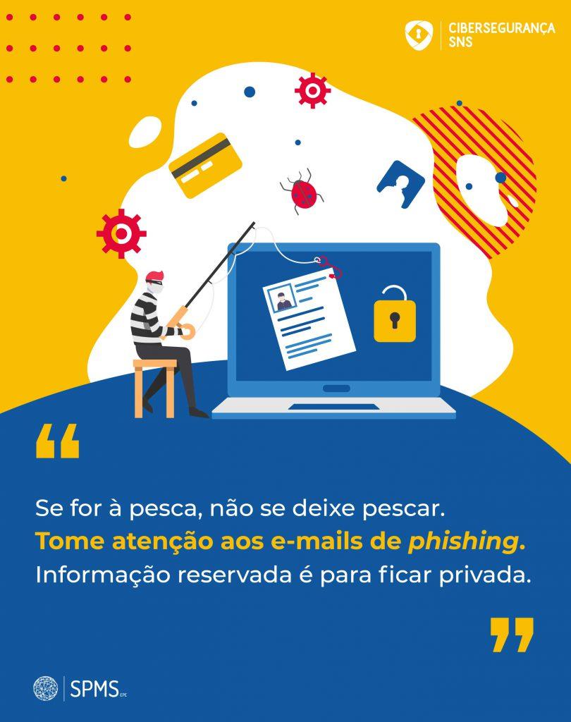 infografia cibersegurança emails de phishing