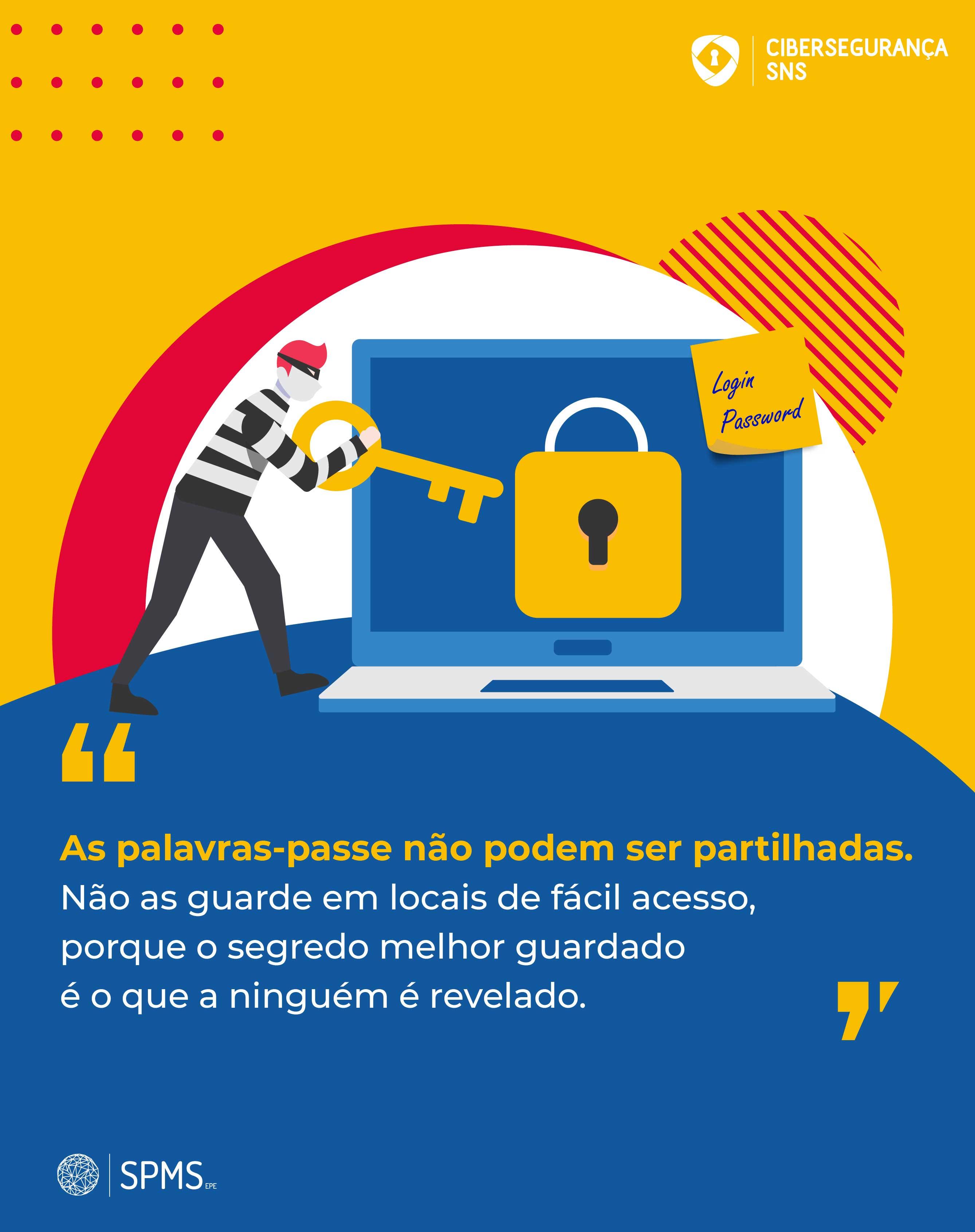 infografia cibersegurança palavras-passe