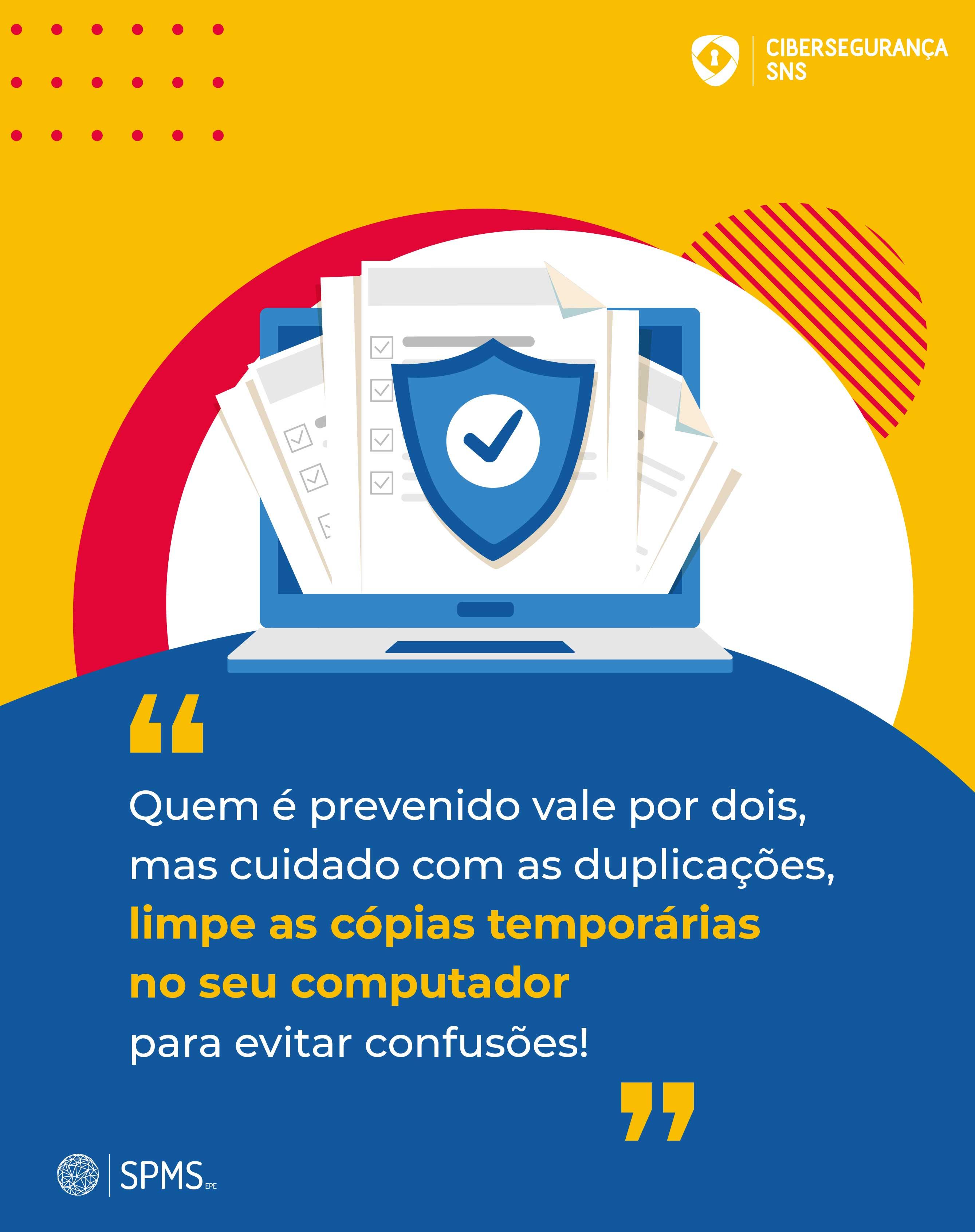 infografia cibersegurança cópias temporárias