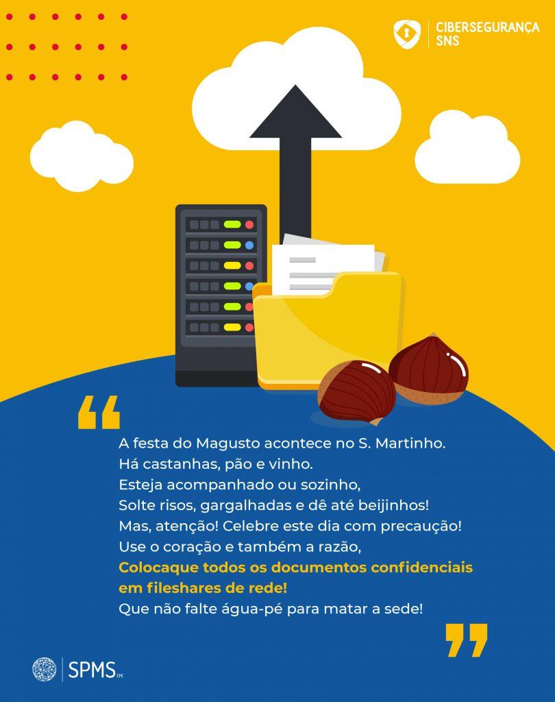 infografia cibersegurança Magusto