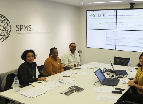 formação sobre SAGMD a paises da CPLP