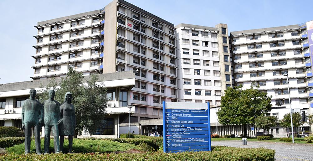 foto do hospital de Guimarães