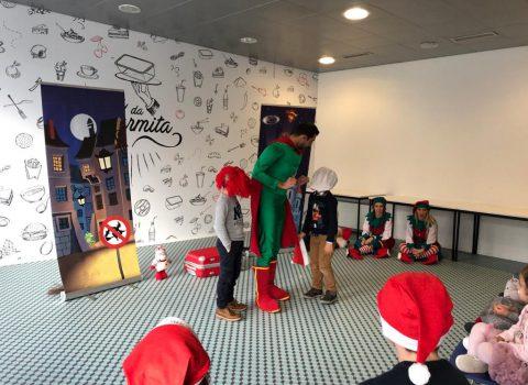 festa de natal das crianças SPMS