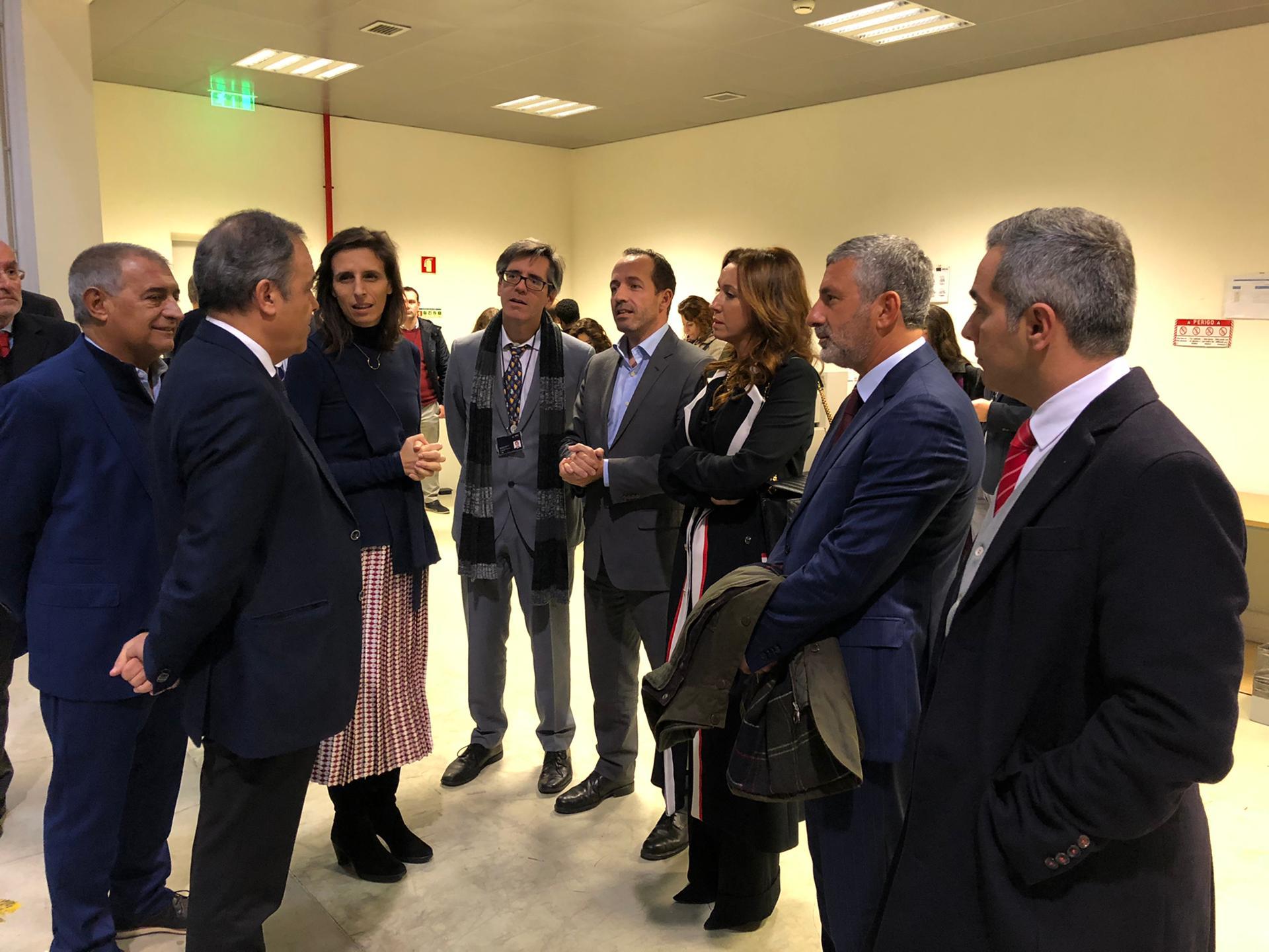 Visita da Secretária de Estado Jamila Madeira ao SNS