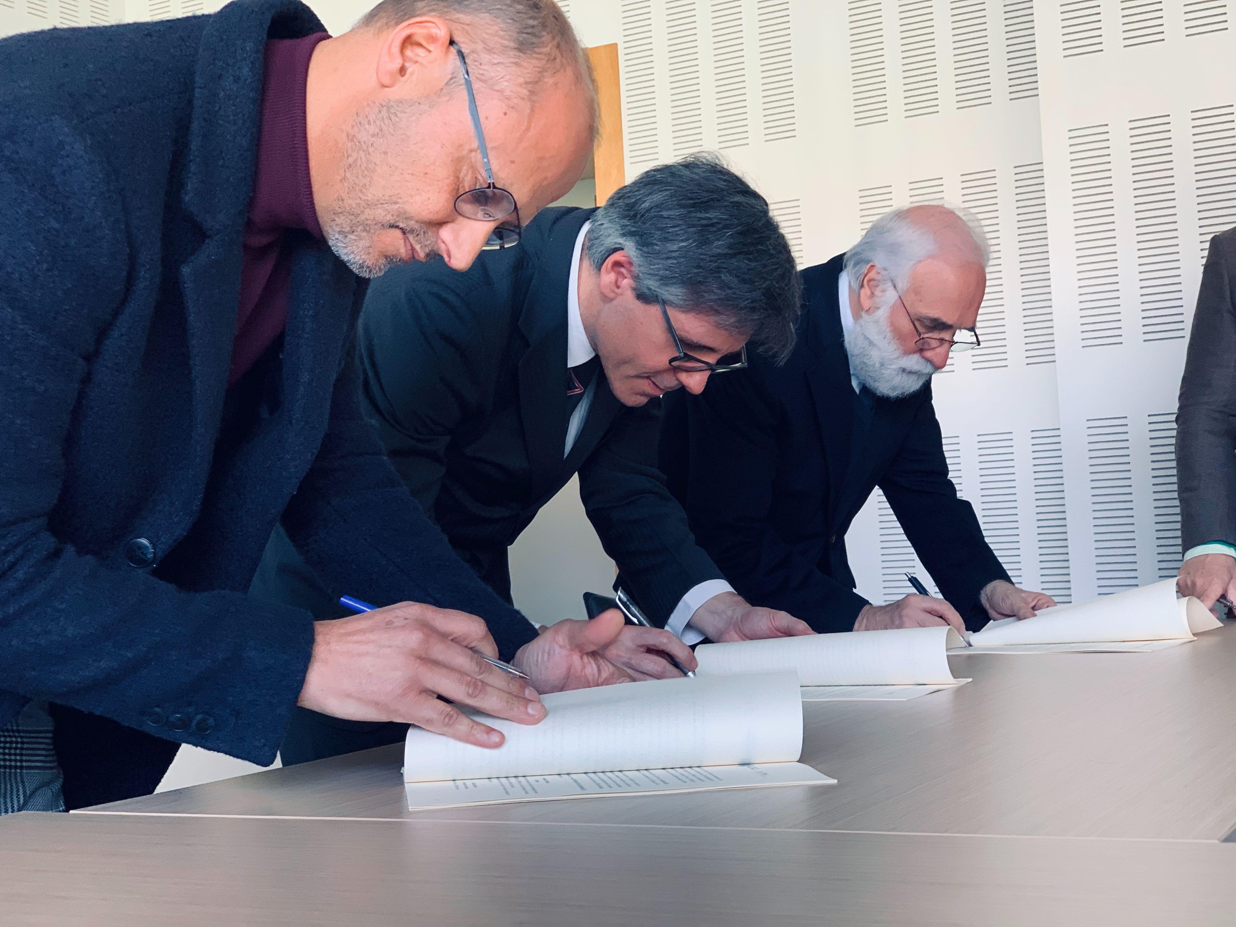 assinatura do Protocolo SPMS e UBI